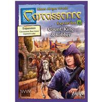 Carcassonne: Count, King & Robber (Exp.) (Eng)