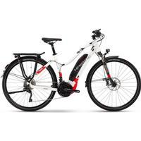 Haibike SDURO Trekking 6.0 women 500Wh 20-Sp XT - 18 HB YWC white/red/anthracite - E-Bikes M
