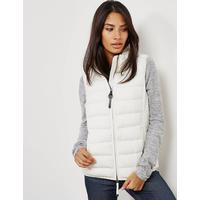 Parajumpers Womens Parajumpers Dodie Padded Gilet White, White