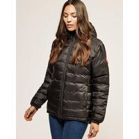 Canada Goose Womens Canada Goose Camp Hooded Padded Jacket Black, Black