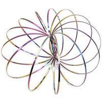 Multicoloured Kinetic Flow Rings
