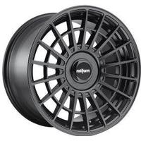 Rotiform LAS-R Alloy Wheels in Black Set of 4 - 18x8.5 Inch ET45 5x112 / 5x114.3 PCD 72.6mm Centre Bore Black, Black