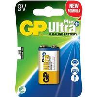 GP Power Batteri Ultra Plus Alkaline 1 stk. 9V/6Lf22 (151125)
