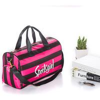 PatPat Waterproof SPORTS GIRL Print Travelling Bag with Independent Shoes Bag
