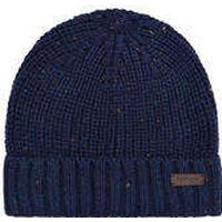 Barbour Langley Beanie Hat Blue