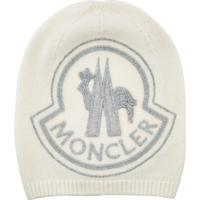 Moncler Embroidered Hat with Wool and Cashmere