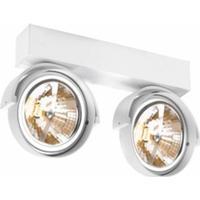 Rand 211 T50 hvid væglampe loftlampe malerilampe spot Delta Light