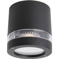 L & K Design FOCUS 1xGU10 loftlampe Sort