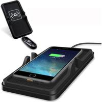 Universal Qi C6 Anti-slip Car Qi Wireless Charging Pad