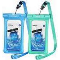 Mpow waterproof bag ipx8 2 pack grøn + blå