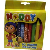 Noddy 10 Jumbo Crayons | Arts & Crafts