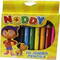 Noddy 10 Jumbo Pencils | Arts & Crafts
