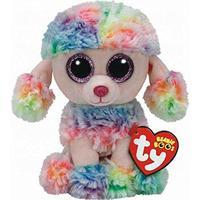 TY Beanie Boos Rainbow Poodle 15cm