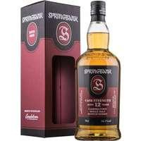 Springbank 12 år Cask Strength Single Malt Whisky 56,3%