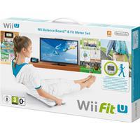 Nintendo Wii Fit U + Fit Meter +Wii Balance Board tilbehørspakke