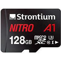 HQ Nitro A1 Micro SDXC Kort 128GB m/adapter (UHS-I) Strontium