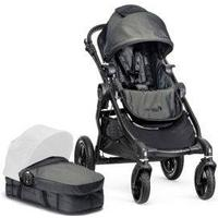 Baby Jogger City Select, Carrycot Set & Raincover Bundle, Grey