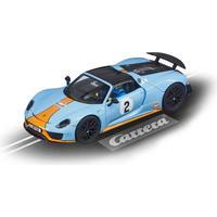 "Carrera 20027549 - Evolution PORSCHE 918 SPYDER ""GULF RACING NO.02"" Auto"