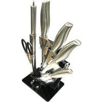 Knivset 7 delar - köksknivar block sax mm