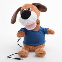 Junior Driver Dancer Stuffed Dog with Speaker