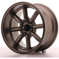 Japan Racing JR19 15x8 ET0 4x100/114 Matt Bronze (Ext. CB: 73,1)