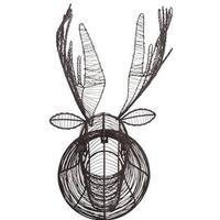 Eco Wire Animal Head - Moose