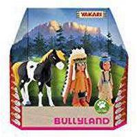 Bully Country 43309Yakari Figurine in Gift Box Set, 3Pieces