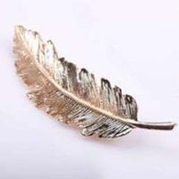 Rylie Jo Hårspænde - Copper Feather
