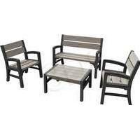 Furniture set KETER 233152 (graphite color)