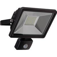 LED Udendørs projektør med bevægelsessensor, 30W Sort