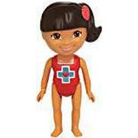 DORA LA EXPLORADORA Dora the Explorer - Bath Doll Lifeguard (Mattel y1423)