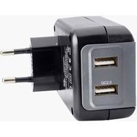 Lynoplader, 2 USB