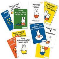 Milestone Baby Cards - MIFFY - Den første gang... (30 stk)