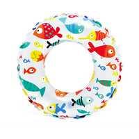 Intex Lively Print Swim Ring Fish 61cm