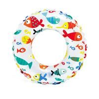 Intex Lively Print Swim Ring Fish 61cm