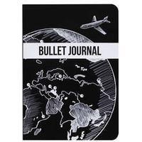 Dotted Journal svart Globe