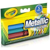 Crayola Metallic Markers 5-Pack