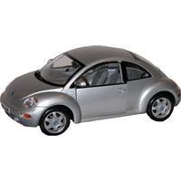Maisto Volkswagen New Beetle 1:18, Silver