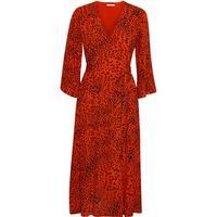 Gestuz Loui Dress - Red Leopard