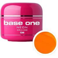 Base one - uv gel - neon - orange - 02 - 5 gram