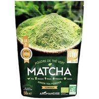 Matcha Grönt Te-Pulver - Ekologisk (50 g)