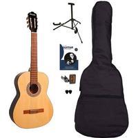 Sant CL-50-NA spansk guitar natur, pakkeløsning