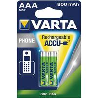 Varta Professional Accu NiMH 800 mAh AAA Phone Power - 2-pack