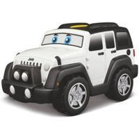 bbJUNIOR Jeep Touch & Go 13,5 cm - Vit