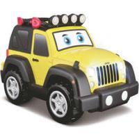 bbJUNIOR Jeep Light & Sound 12 cm - Gul