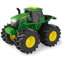 Tomy Monster Treads - Traktor med ljud och ljus - Grön