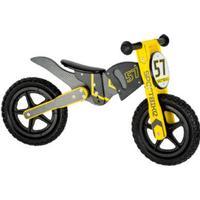 small foot design Springcykel Motocross Bike - Svart