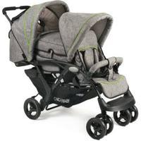 CHIC 4 BABY Søskendevogn DUO Jeans grey - grå
