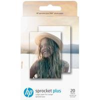 HP ZINK Sticky-Backed - fotopapir - 20 ark - 58 x 87 mm - 258 g/m²