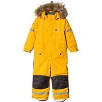 Kuling Outdoor Verbier Vinteroverall Happy Yellow 146 cm (10-11 år)
